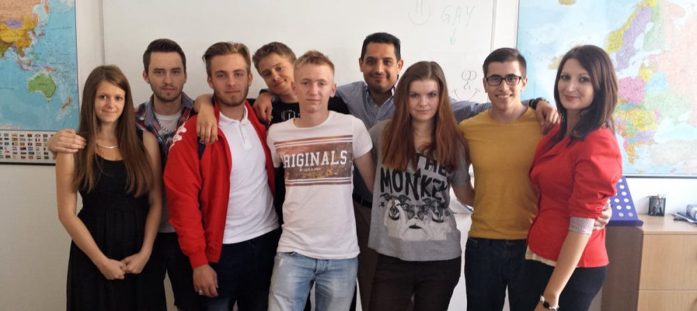 Výuka jazyků v jazykové škole v Brně